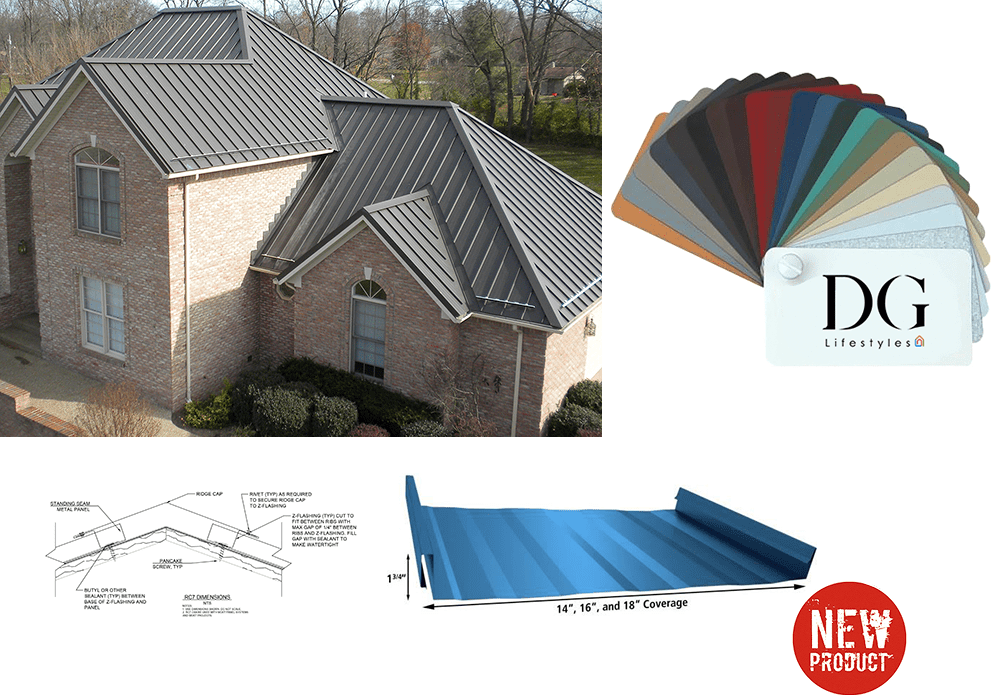 DGLifestyles.com Metal Roofing