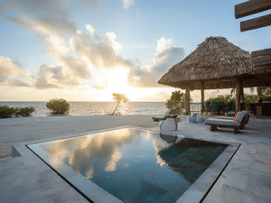 Gladden Private Island Resort in text